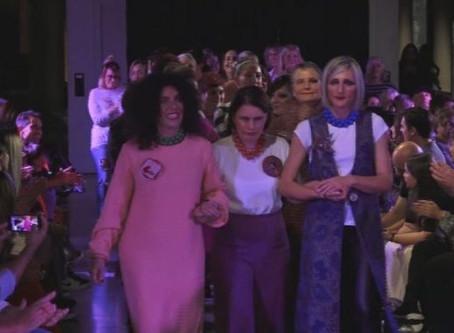 La forza delle donne sfila in passerella insieme a Ballsmania