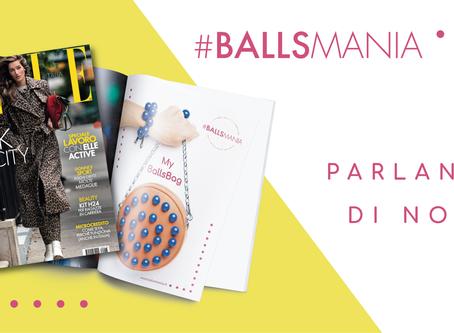 My BallsBag® su Glamour  ed Elle