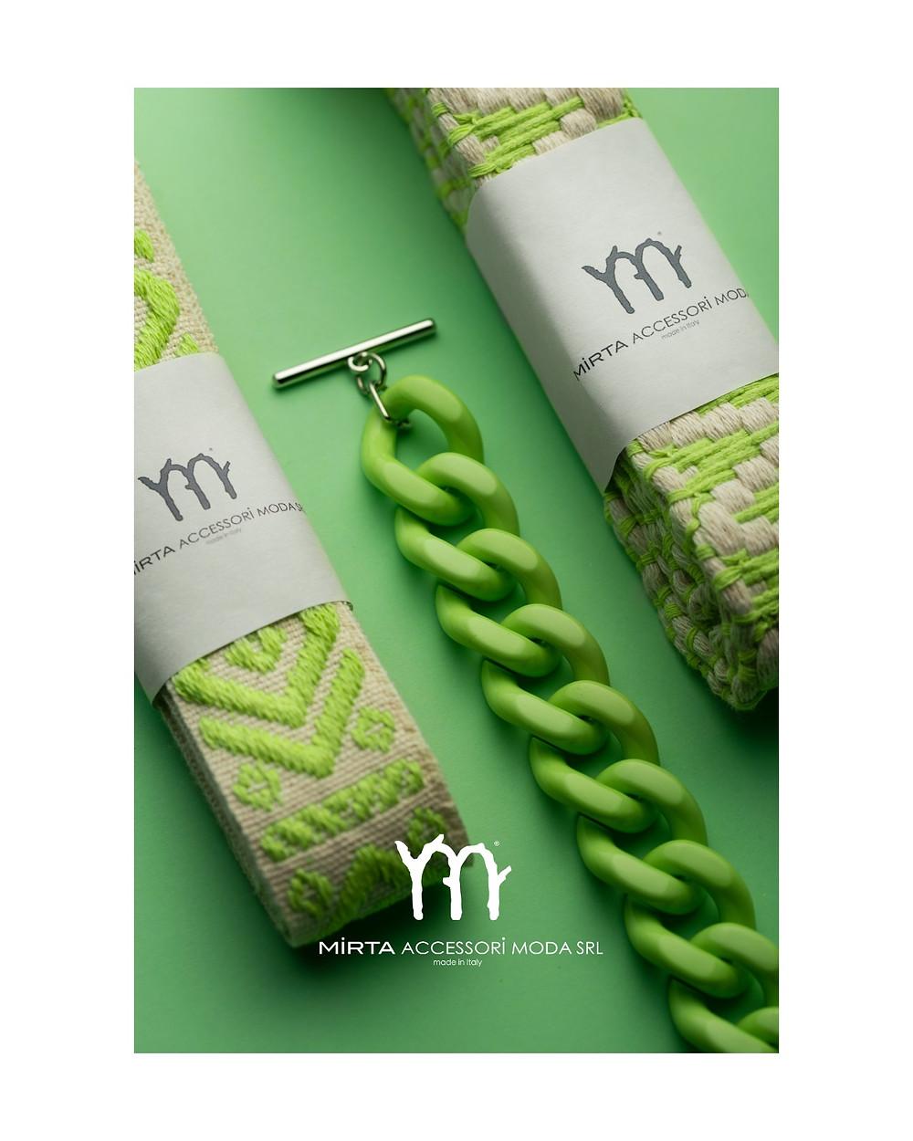 NUOVI ACCESSORI di Mirta  Colorati, originali e di qualità italiana al 100%     E' l'accessorio di tendenza che fa la differenza.