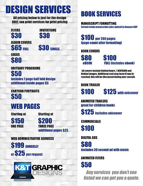 K&T Graphic Designs - Design Services