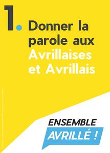Affiche de la Consultation des Habitants