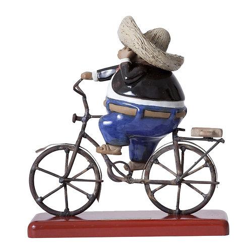 Hombre de Negocios en bici