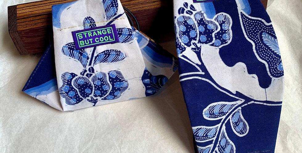 JoY in Blue Flowers