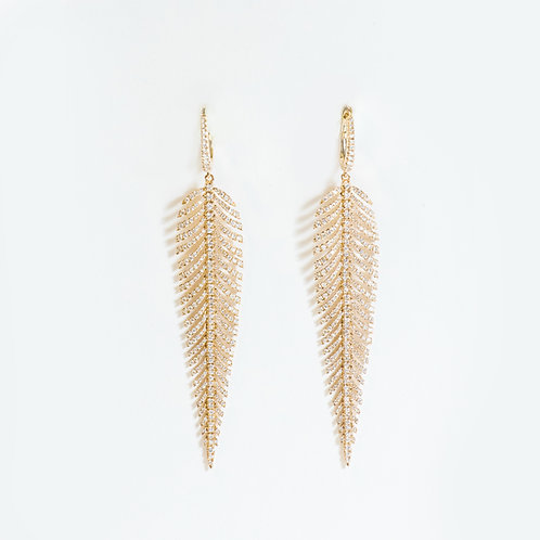 """Plume"" Earrings"