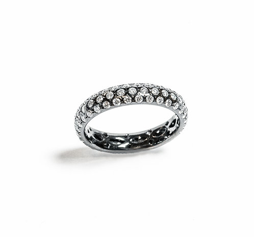 """Midnight"" Eternity Band"