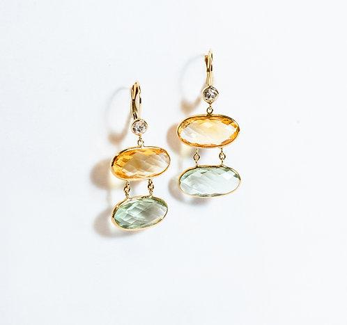 """""""Coralee"""" Earrings"""