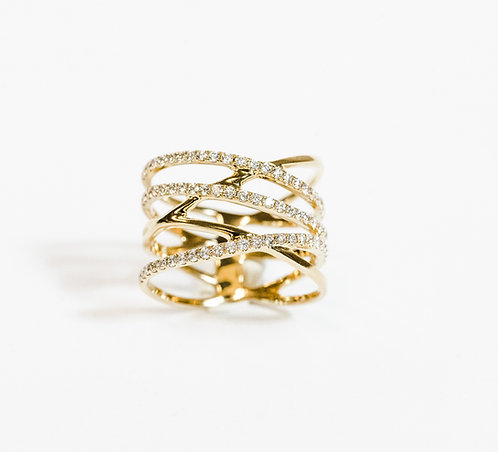 """Lucia"" Ring"
