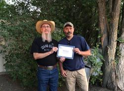 Bill Provence, Service Award