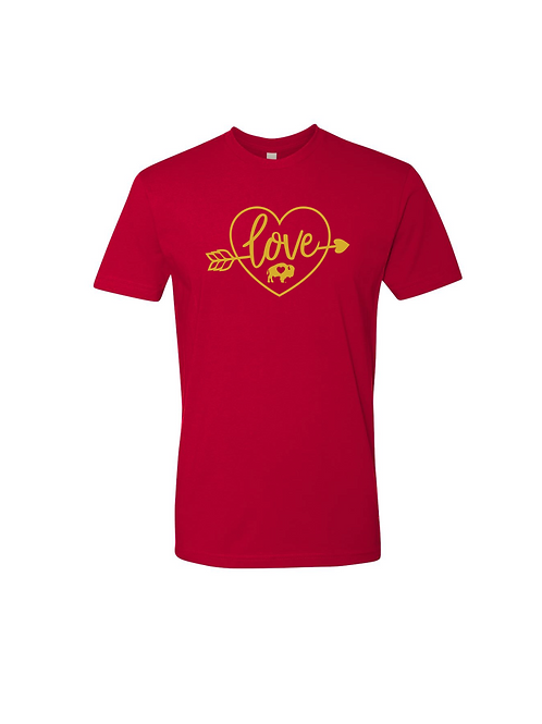 Heart/Arrow Foil T-Shirt