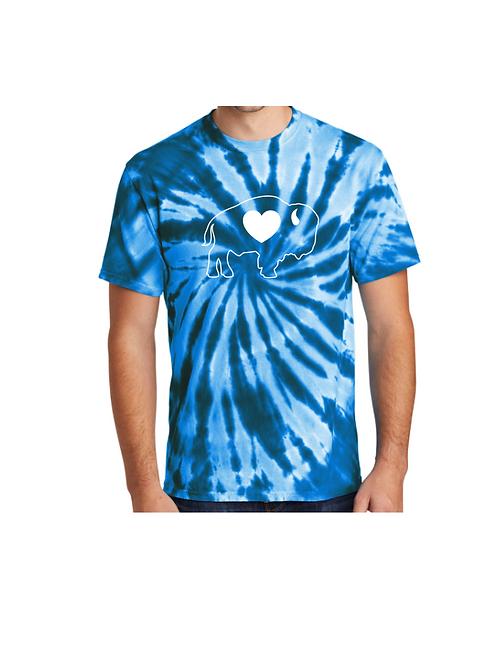 Royal Blue Tie Dye T-Shirt