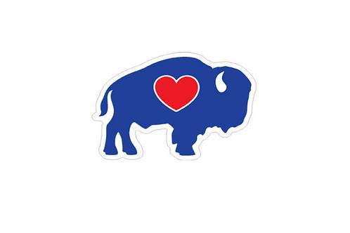 Diecut Buffalo Magnet