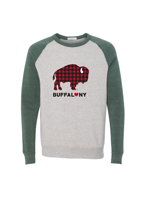 Plaid Buffalo Sweatshirt