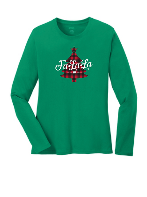 Fa La La Ladies Long Sleeve