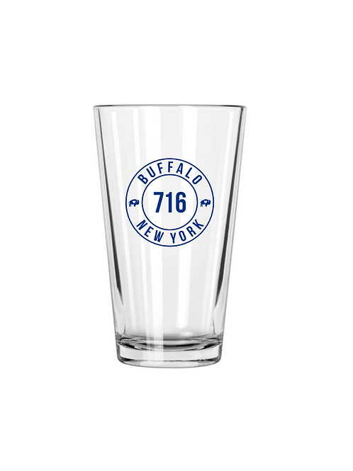 716 Pint Glass