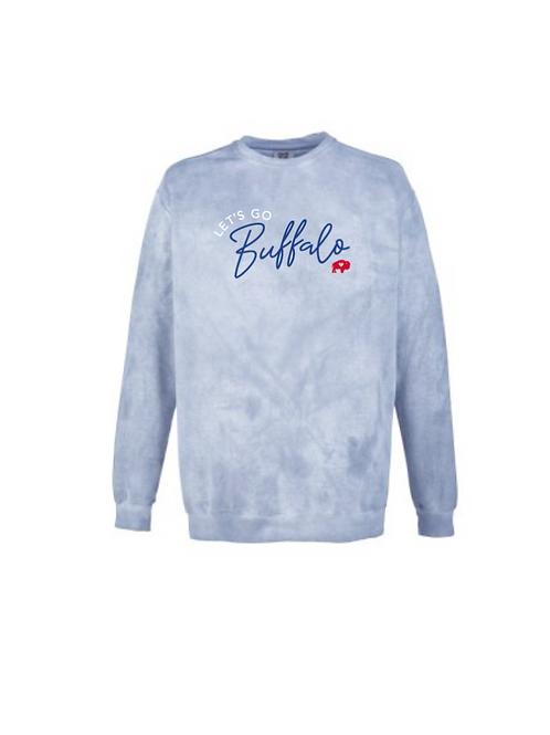 Let's Go Buffalo Acid Wash Sweatshirt