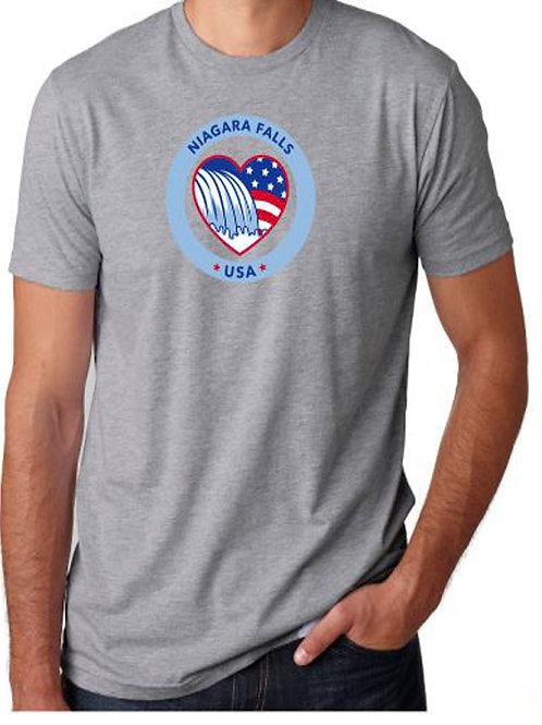 Niagara Falls Circle T-Shirt