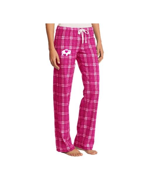 Pink Plaid Pajama Pants