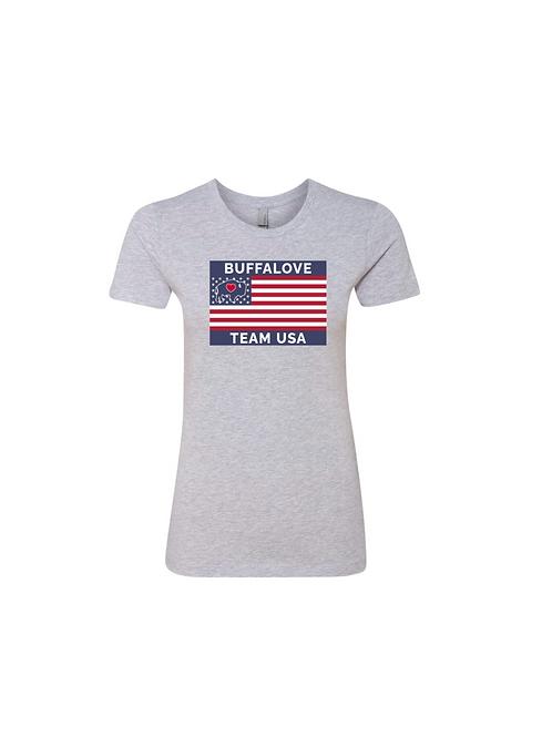 Ladies Team USA Flag T-Shirt