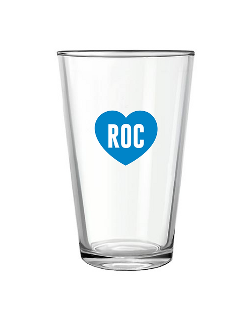 RocLove Pint Glass