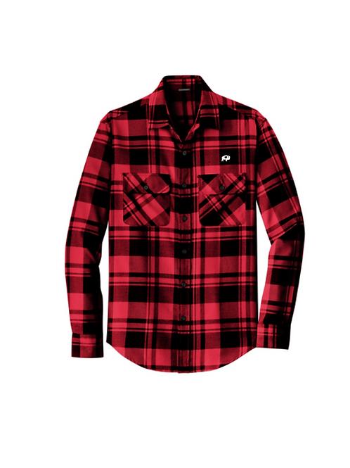 Mens Plaid Flannel Shirt