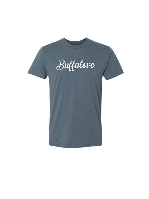 BuffaLove Cursive T-Shirt