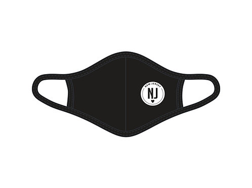New Jersey Circle Face Mask