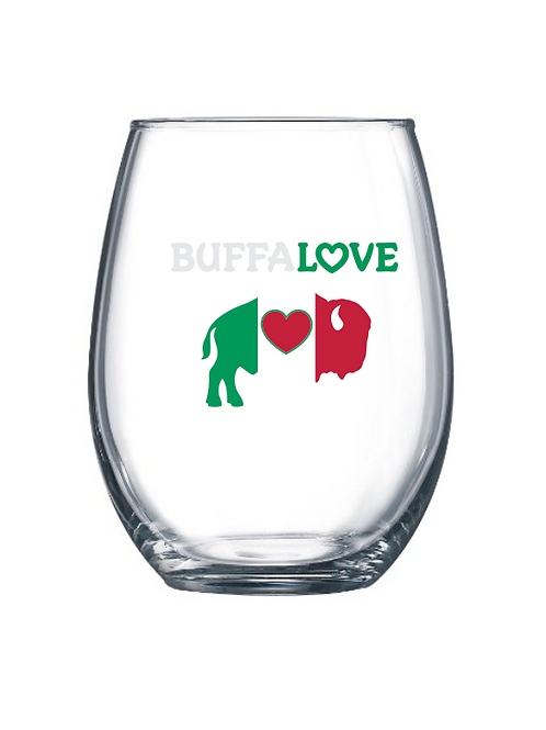 Italian Stemless Wine Glass