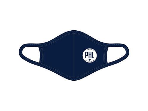 Philadelphia, PA Circle Face Mask