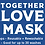 Thumbnail: Light Blue Daisy Youth Face Mask