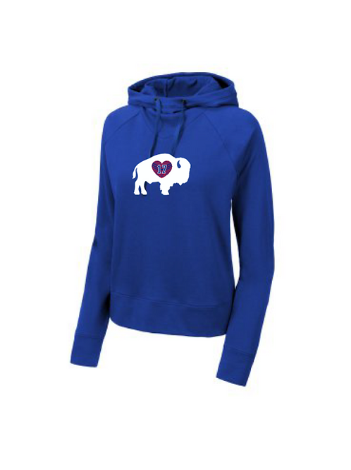 17 In Our Hearts Cowl Neck Hoodie