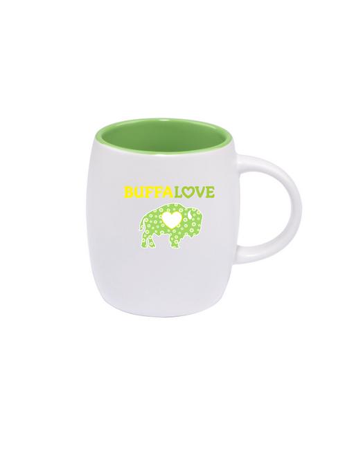 Lime Daisy Coffee Mug
