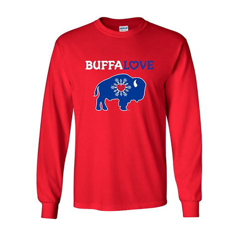 BuffaLove Snowflake Long Sleeve