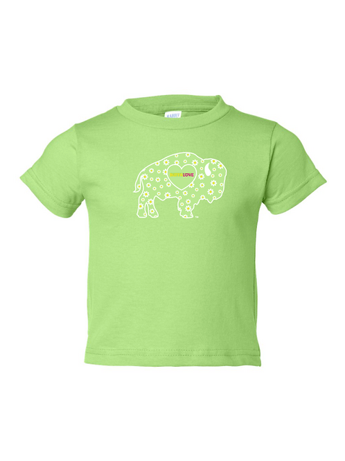 Lime Daisy Toddler T-Shirt