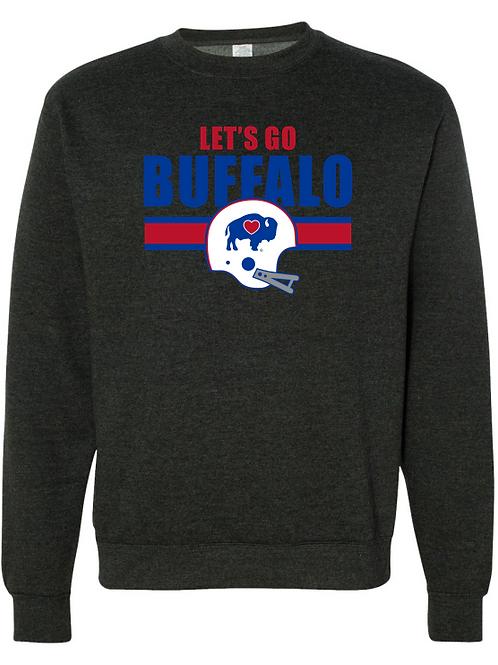 Let's Go Buffalo Heather Sweatshirt