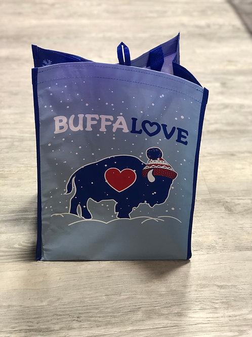 Winter Reusable Grocery Bag