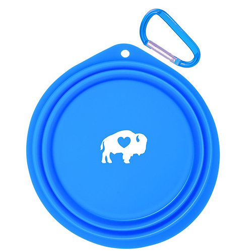 Silicone Collapsible Pet Bowl Large