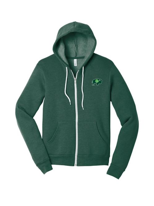Irish Full Zip Hoodies