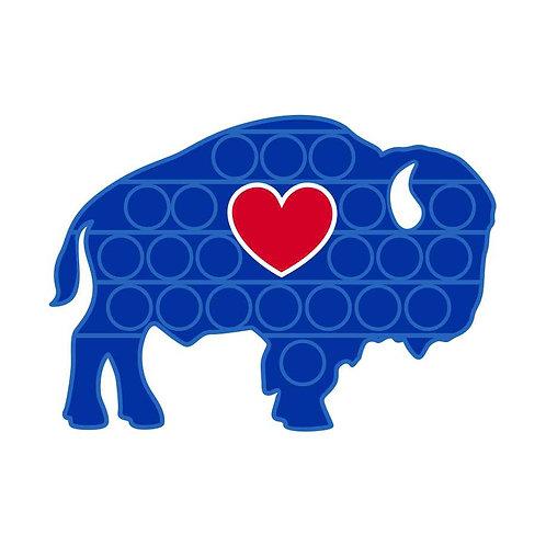 Classic Buffalo BUBBLE BUF'S Popper