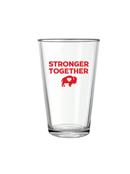 Stronger Together Pint Glass