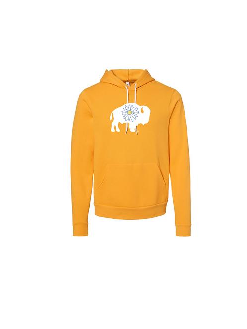 Gold Daisy Buffalo Hoodie