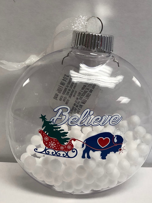 Believe Ball Ornament