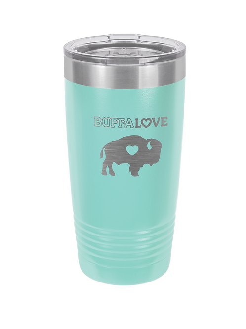 Spring Colors Engraved Travel Mug