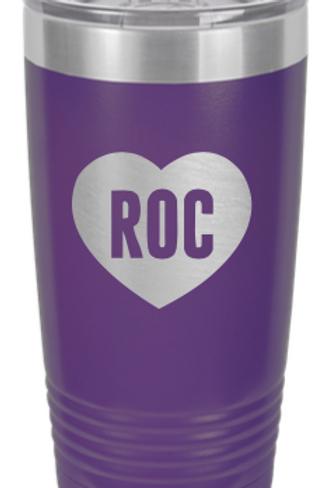RocLove Stainless Travel Mugs