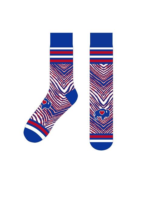 Stripes Crew Socks