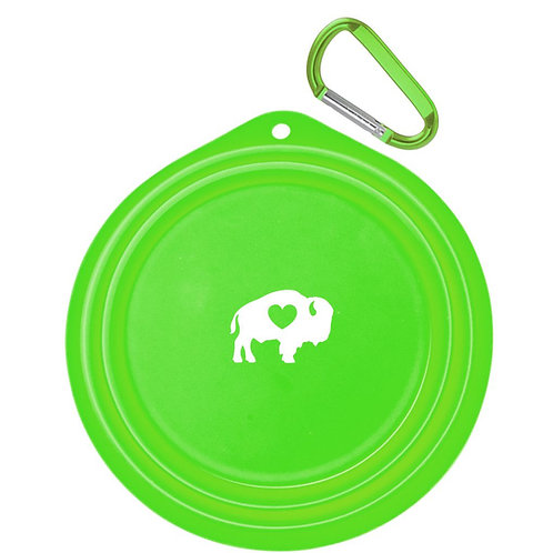 Silicone Collapsible Pet Bowl Small