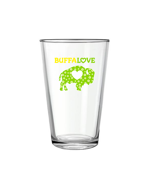 Spring Lime Pint Glass