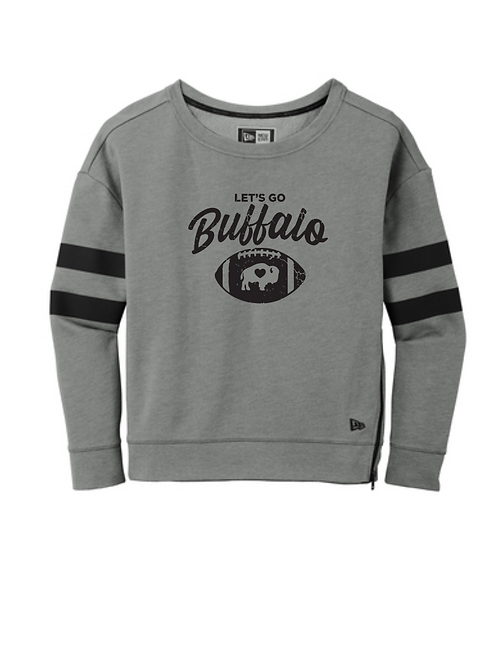 New Era Ladies Let'sGo Buffalo Sweatshirt