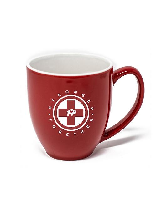 Stronger Together Cross Coffee Mug