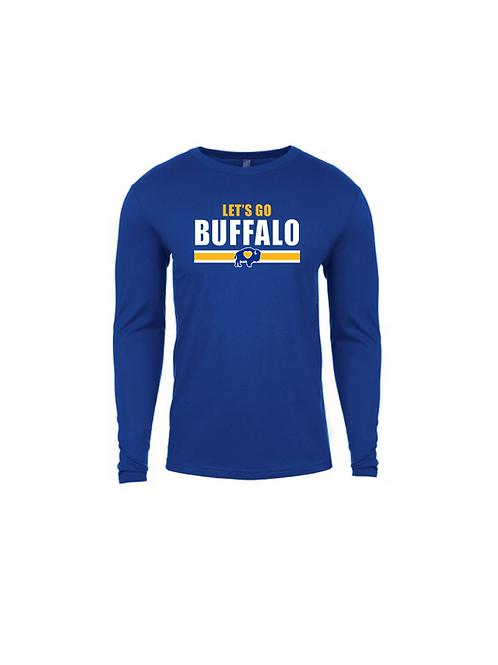 Let's Go Buffalo Hockey Long Sleeve