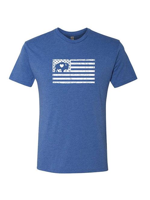 Distressed Flag T-Shirt